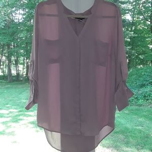 Tops - Pretty Orchid Color Blouse